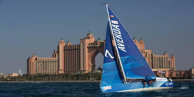 Andrew Baker will skipper Team Averda in the Sailing Arabia Tour next month