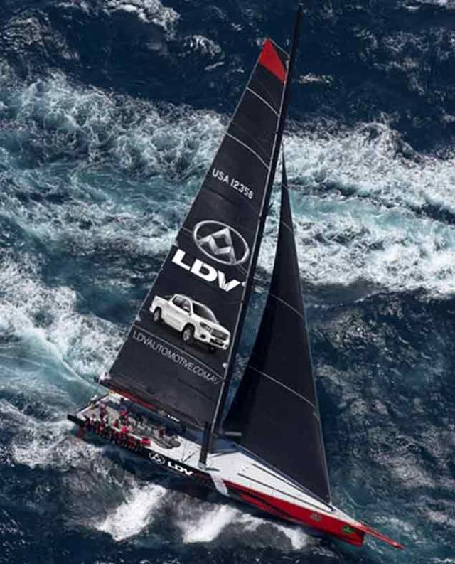 It is a wonderful forecast for the Line Honours favourite, LDV Comanche pictured above