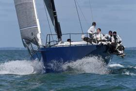 Christoph Avenarius & Gorm Gondesen's German Ker 46, Shakti took Line Honours, Class IRC Zero and the overall win for the best corrected time under IRC for the fleet