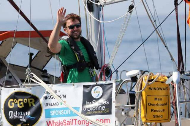 Gregor McGuckin Rolled 360 Degrees, Knocking Him Out of Golden Globe Race