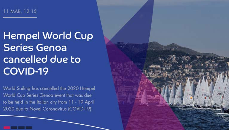 Irish Olympic Qualifier to be Rescheduled as World Cup Genoa is Cancelled