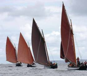 Galway Hookers are part of Ireland's Maritime Heritage and deserve support says Chairman