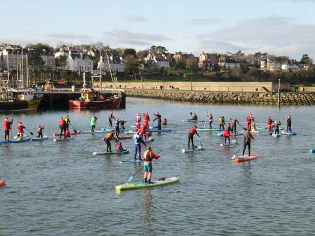 Stand Up Paddleboarding Fundraiser at Bangor Harbour