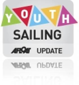 Youth Sailors Durcan v Lynch Battle for Lead at All Ireland Juniors in Schull