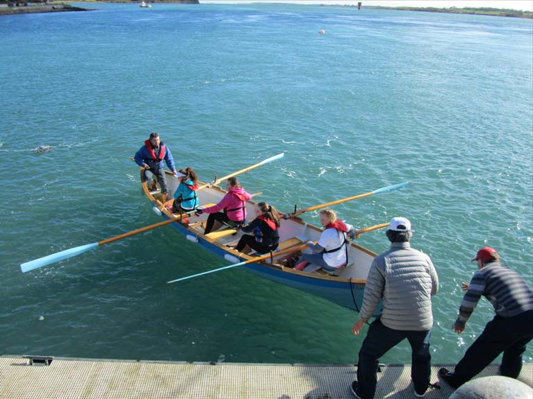 The revival of an old sport has been a phenomenal success with community boats built