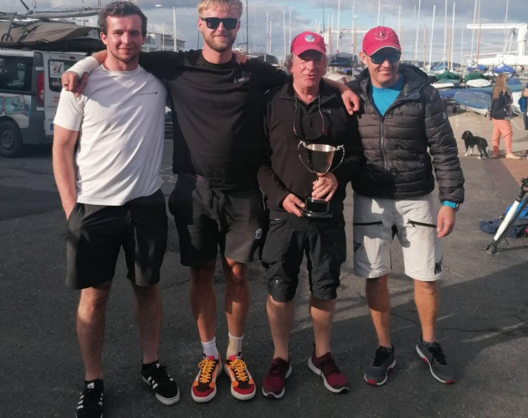 Winning MoJo team (L-R) Conor Cleary, Aaron Jones, Pat O'Neill, Shane Hughes