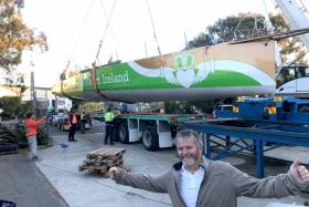 Enda in New Zealand gets ready to launch – 'Originally, I was going to acquire the Souffe eu Nord Mast and their boat was to be written off. However, in the end, it made sense for me to work with them to fix their boat and sell my hull'