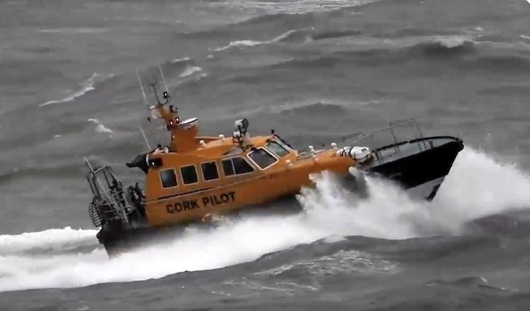 "The Safehaven Marine built Interceptor 48 Pilot Boat ""Failte"""