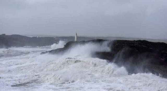 Ophelia strikes West Cork. In normal weather, the white day-mark of Baltimore Beacon stands serenely well above the sea, guiding mariners into the popular West Cork harbour. But yesterday – as recorded by noted Baltimore sailor and restaurateur Youen Jacob – Storm Ophelia ensured it was well-salted