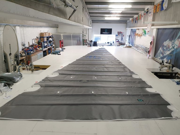 Quantum Fusion M6 & M8; Carbon Membrane Sails for Cruising Owners Who Also Like to Race