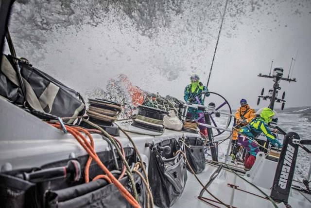 Team AkzoNobel Sets Record-Breaking Pace To Lead Leg 9 Of Volvo Ocean Race