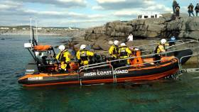 Doolin Coast Guard RIB recovered a body this morning