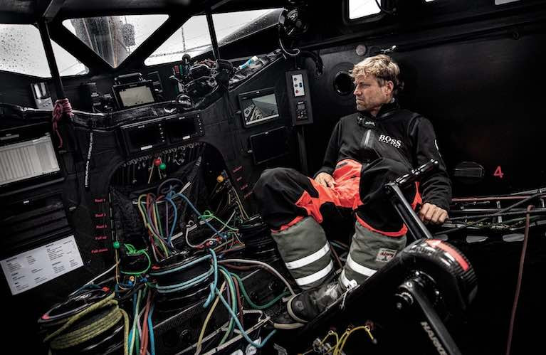 Alex Thomson - has retired from his fifth attempt at the Vendee Globe Race
