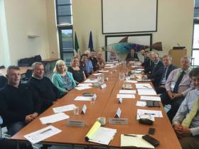 Industry representatives at a meeting of the National Inshore Fisheries Forum (NIFF) at the National Seafood Centre in Clonakilty, Co Cork