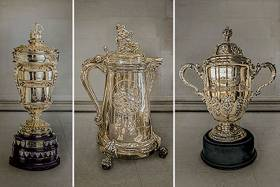 Three of the sailing world's most historic and prestigious trophies will be awarded to the three classes: The Queen's Cup, presented to the Royal Southampton Yacht Club by Queen Victoria in 1897;  - The King George V International Cup (also known as the White Heather Cup) from the Royal Thames Yacht Club, a huge flagon that was awarded for the 23 metre class in 1911 and won by White Heather II