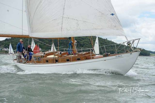Anthony O'Leary's 50ft 'Northele' Brings Rare & Classic Style to Crosshaven