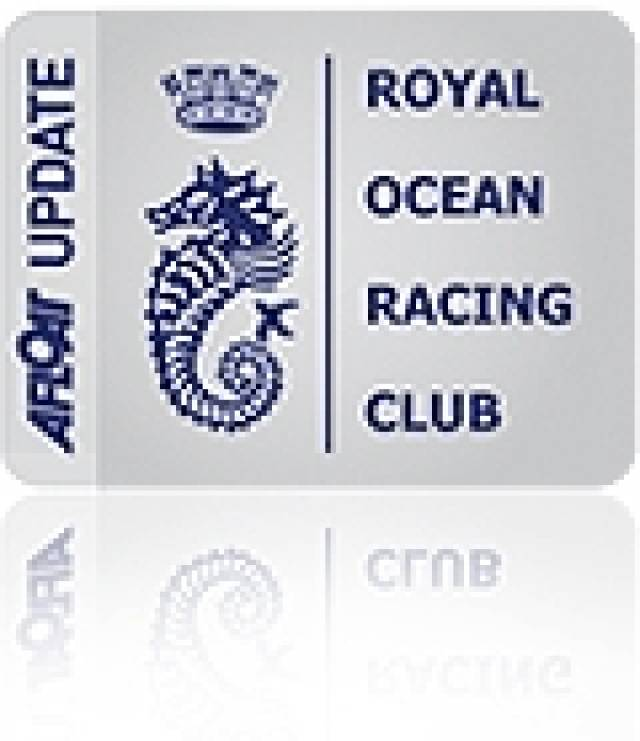 Afloat.ie: RORC Announce Change to the Class Bands for Commodores' Cup