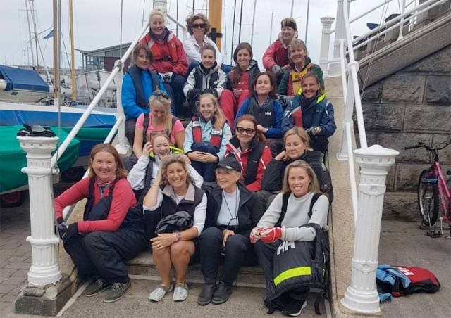 Royal Irish Ladies Make A Day Of It On Dublin Bay