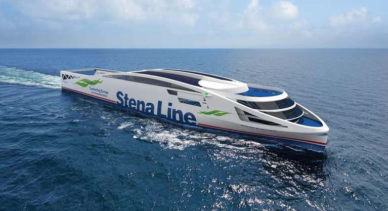 Stena Line's First Electric Ferry - Eletkra - Planned for 2030