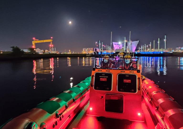 Lagan Search & Rescue in Belfast Harbour