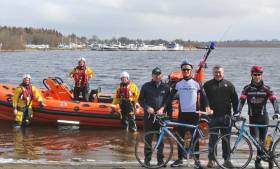 Lough Ree's lifeboat volunteers prepare for their sixth fundraising lap of the lough