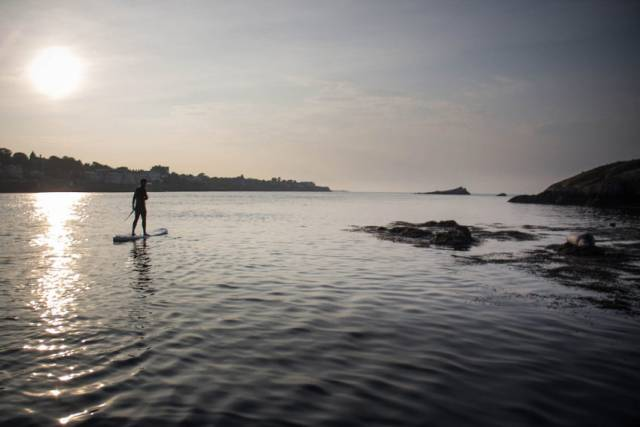 Stand-up paddling to Dalkey Island with Big Style