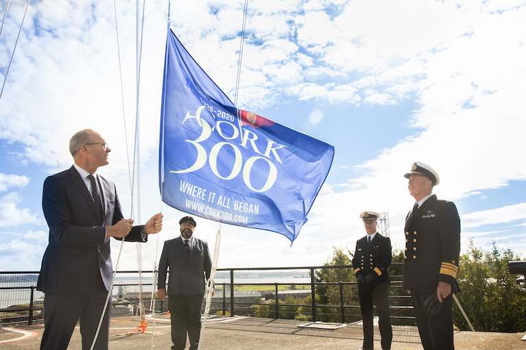 Minister Coveney Marks Royal Cork Yacht Club's 300th Birthday