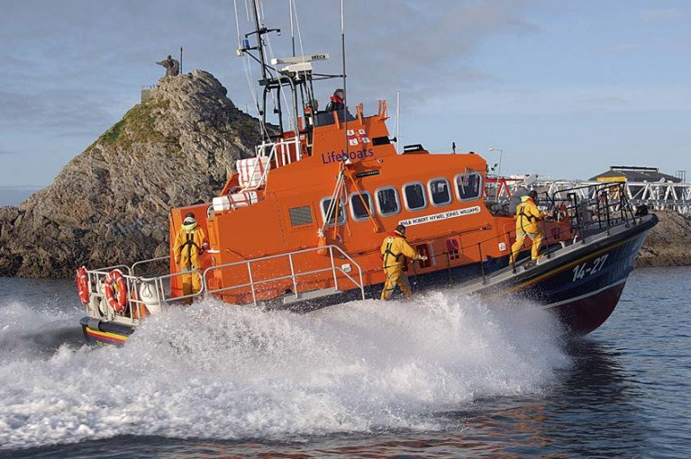 File image of Fenit RNLI's all-weather lifeboat