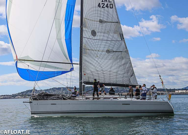 The Royal Irish First 40 Prima Forte was the IRC winner in tonight's DBSC IRC Zero race