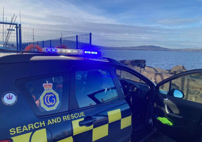 Coastguard Issues Warning After Surfer Close to Belfast Lough Ferry Prompts Rescue Attempt