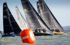 FAST40+s made their race debut at the RORC Easter Challenge