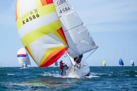 Great sailing conditions for Bangor Town Regatta