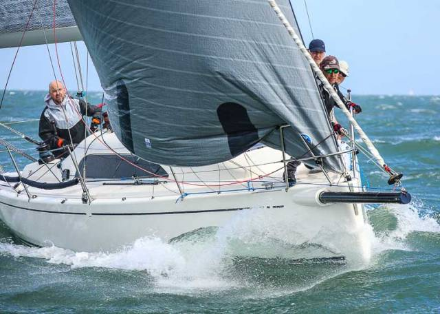 The Class One XP 33 Bon Exemple from the Royal Irish Yacht Club is one of the cruiser type yachts that qualifies to race in the DMYC's King of the Bay Coastal Race on June 9