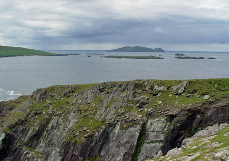 File image of Dún Mór Head on the Dingle Peninsula