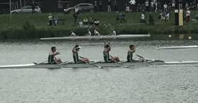 The Ireland Quadruple Take Gold at Hazewinkel.