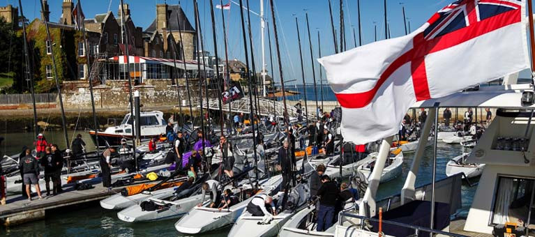 Largest Ever RS Elite International Grand Prix for Cowes