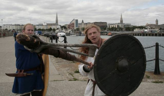 Vikings take to the East Pier, Dun Laoghaire this Sunday, 20 August