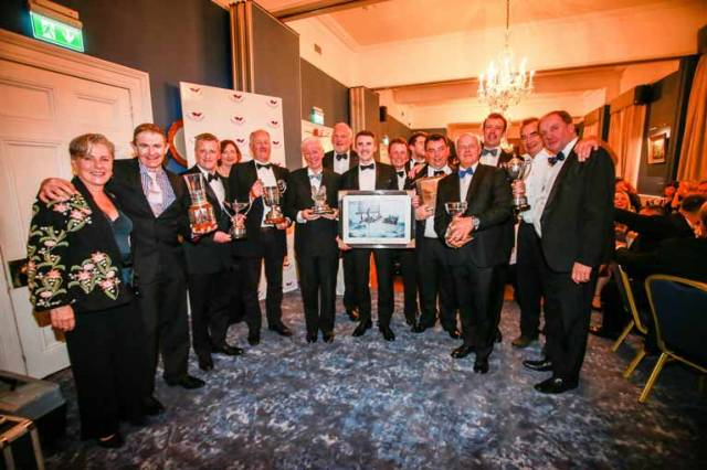 ISORA Salutes 2019 Champions Paul O'Higgins & The Rockabill VI Crew at National Yacht Club Dinner