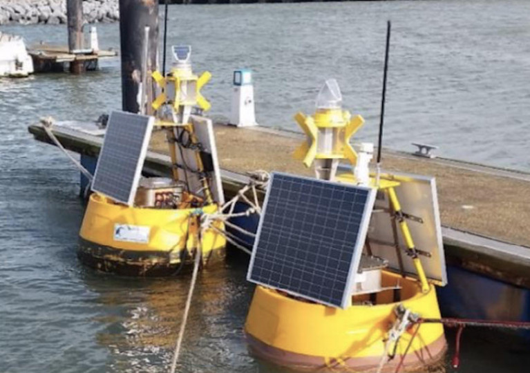 Data Buoys for Oceanographic Monitoring of Fenit Harbour Set to Deploy in Tralee Bay