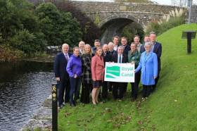 Announcing funding for the Royal Canal Greenway's second phase this past Thursday 10 October