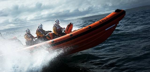 The lifeboats between them searched a huge area  off the Northern Ireland coastline before standing down the search after 4am.