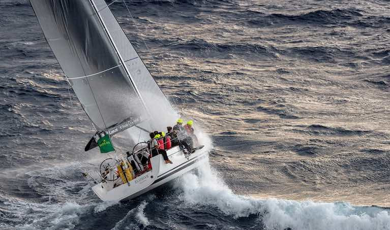 The Podesta family's First 45 looks set to make it two in a row in the annual Rolex Middle Sea Race