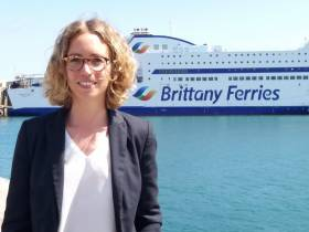 As a company founded by farmers, Brittany Ferries is committed to sustainable development across all aspects of ferry operations, from building new ships to reducing single-use plastics on board. To help the French operator move forward with this, they have appointed their first eco-responsibility manager, Claire Artagnan. AFLOAT adds also pictured above is Armorique which earlier this year operated several sailings on the Cork-Roscoff route while routine flagship Pont-Aven was dry-docked.