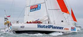 Clipper Race Fleet Rides The Gulf Stream Rollercoaster