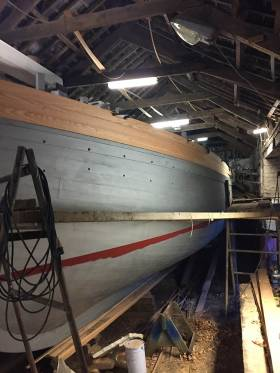Ilen – restoration work continues in West Cork on Ireland's last surviving Sail Trader
