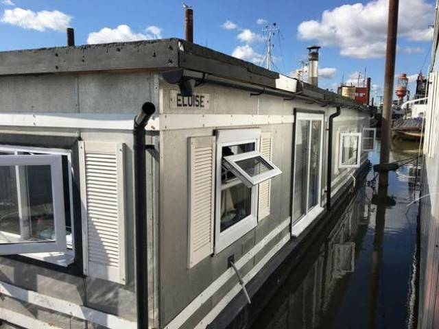 A one bedroom houseboat offering good sized accommodation and excellent headroom, such as this second–hand one pictured above, is on the market at €85,000