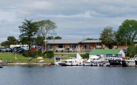 Summertime at Lough Ree Yacht Club at Ballyglass near Athlone, hospitable hosts for Ireland's varied cruising interests on Saturday