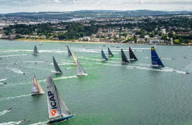 Yachts from around the world will converge on Cowes for the start of the 2017 Rolex Fastnet Race in August