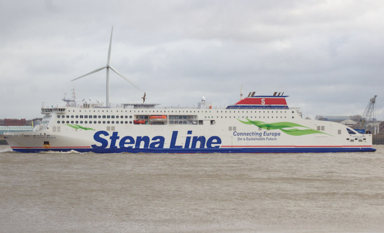 File image of Stena Edda in Liverpool