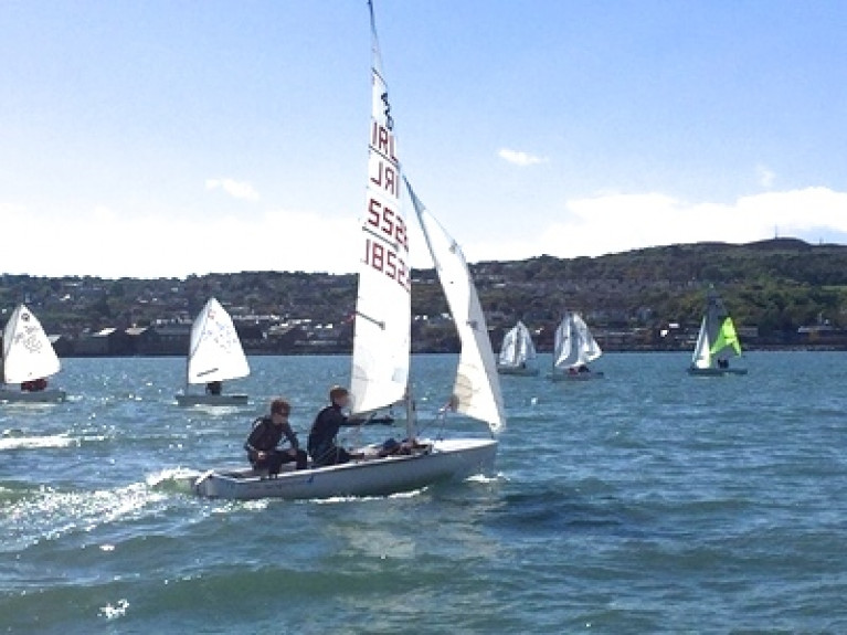 Mixed classes for junior sailing at Howth – a supervised initially non-racing programme begins next Tuesday (June 9th)